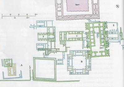 Storia dell'arte la mezzaluna fertile i sumeri  area sacra di eanna a uruk periodo protostorico