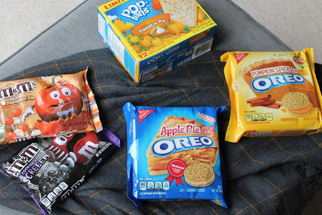 American Halloween Treats Oreo M&Ms Pop Tart Pumpkin Pie Spice
