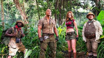 Dunia Sinema Review Jumanji : Welcome to the Jungle