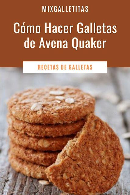 Cómo hacer galletas de avena quaker