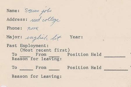 Tulisan Tangan Surat Lamaran Kerja Steve Jobs Akan Dilelang