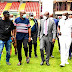 Sanwo-Olu Inspects Onikan Stadium Ahead Of Aisha Buhari Cup