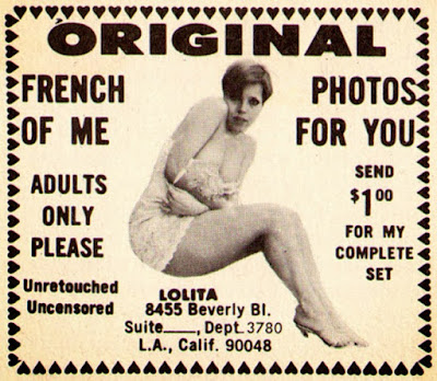 Original French photos of me for you