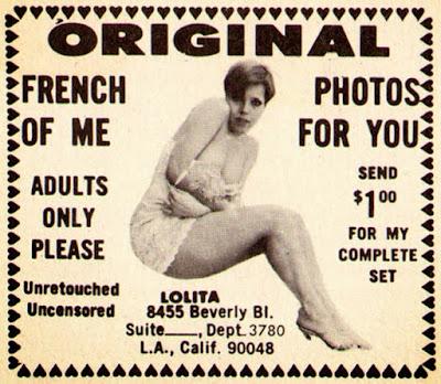 Original French photos of me for you