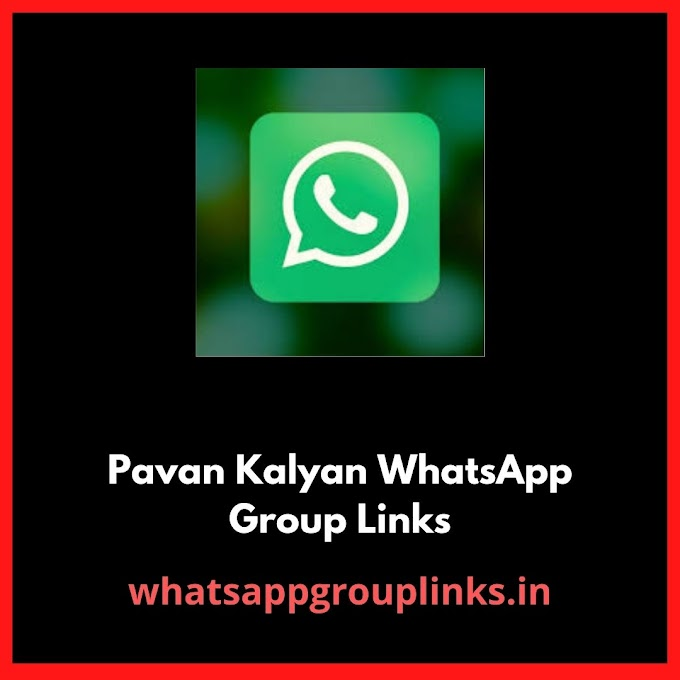 Pavan Kalyan WhatsApp Group Links