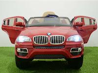 Mobil Mainan Aki Junior JB30 BMW X6 SUV-Lisensi