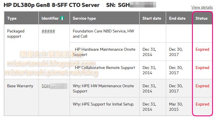 狸貓先生愛廢話講堂: HPE Server 硬知識- 透過iLO 收集AHS 資訊