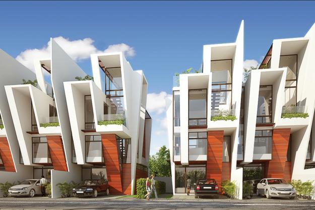 Residential Design: Modern Town Modern Residential Model Homes Designs