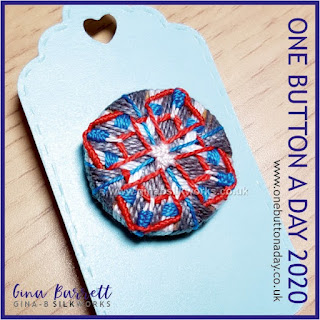 One Button a Day 2020 by Gina Barrett - Day 37 : Penna