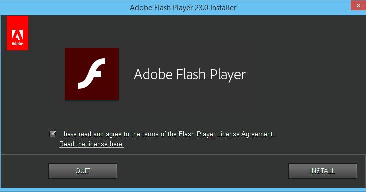 flash player 23