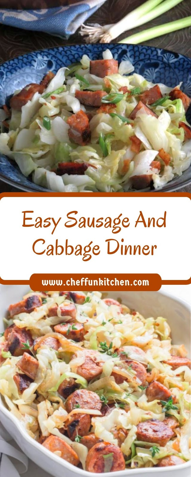 Easy Sausage And Cabbage Dinner