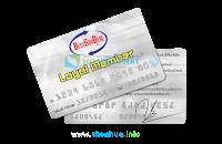 In thẻ pvc làm thẻ thành viên cộng điểm