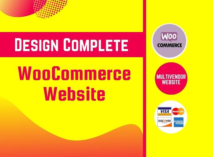 I will create  Wordpress woocommerce website or multivendor website
