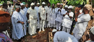 Laying Of The School Foundation For Ile Ife Obatala Group Of Schools