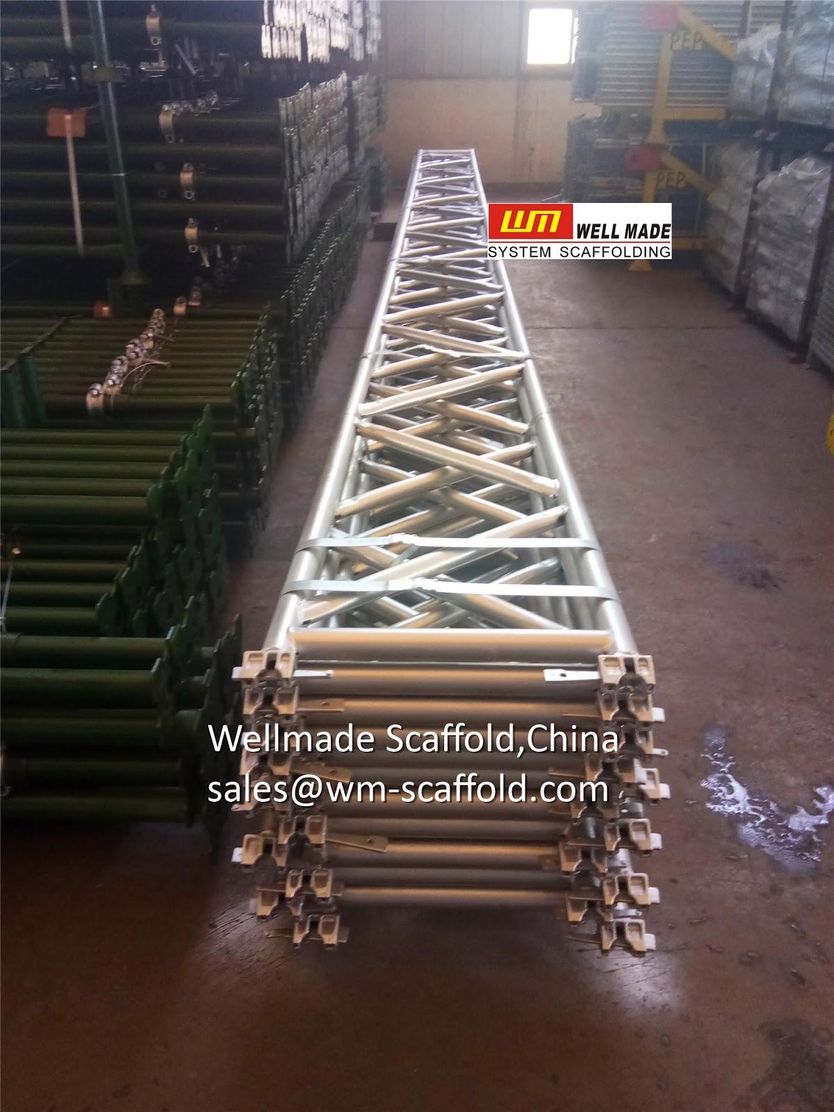Layher Scaffolding Allround Ring Lock Scaffolding Lattice