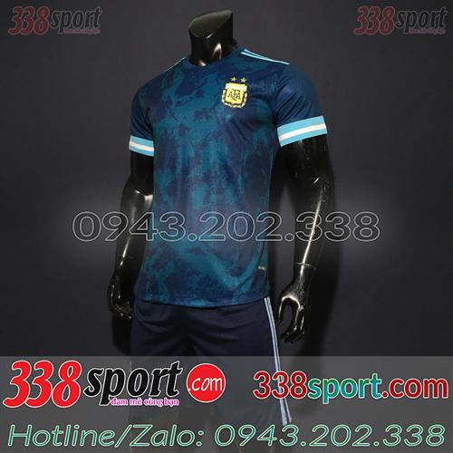 Áo Đội Tuyển Argentina 2020 Sân Khách Màu Tím Than