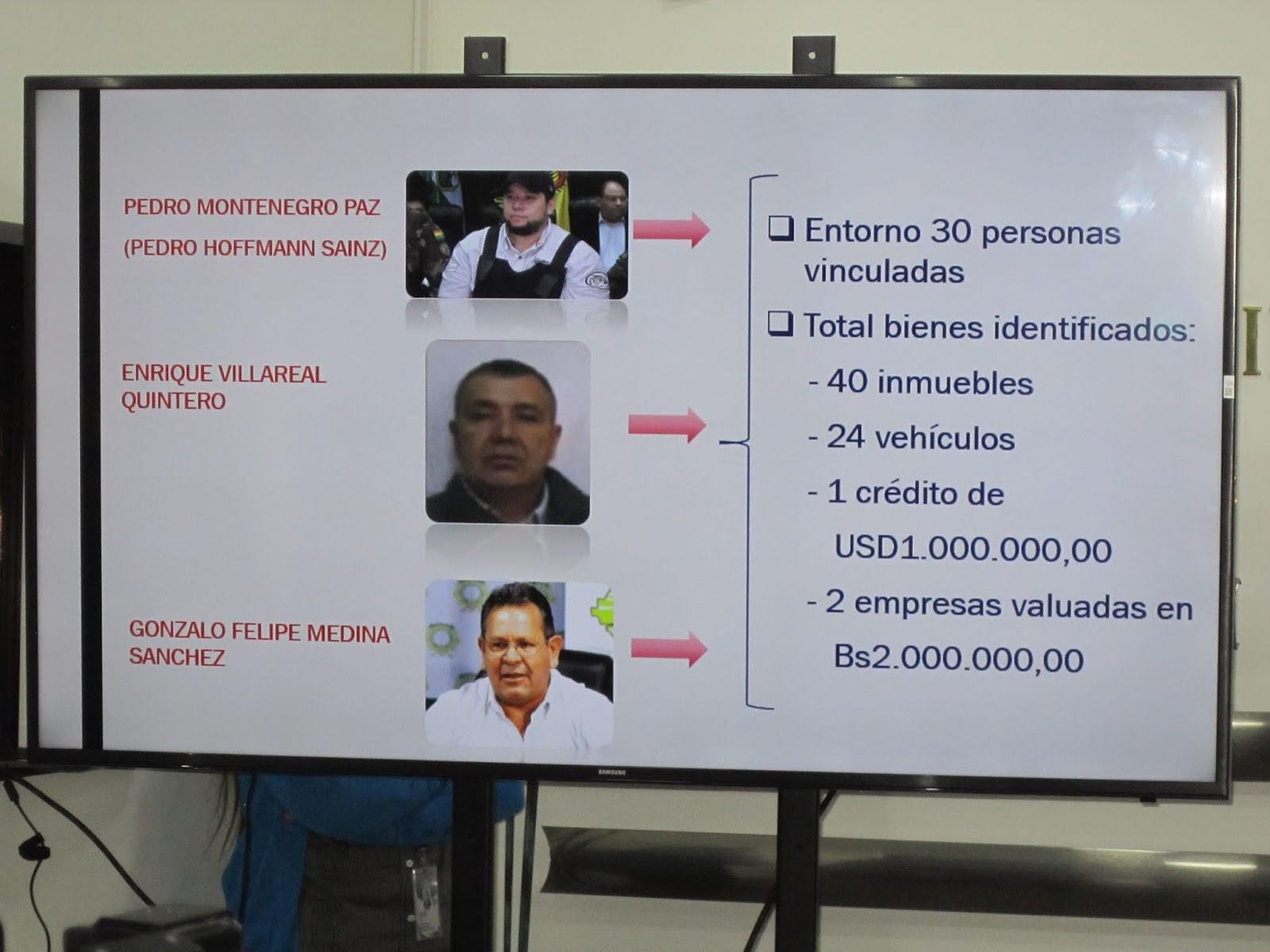 El cuadro presentado del polémico caso Montenegro - Medina / ÁNGEL SALAZAR