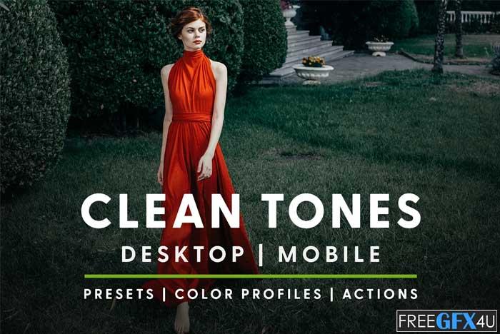 Clean Tones Actions & Presets