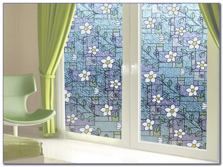 Lowes Stained Glass Window Film Home Car Window Glass Tint Film