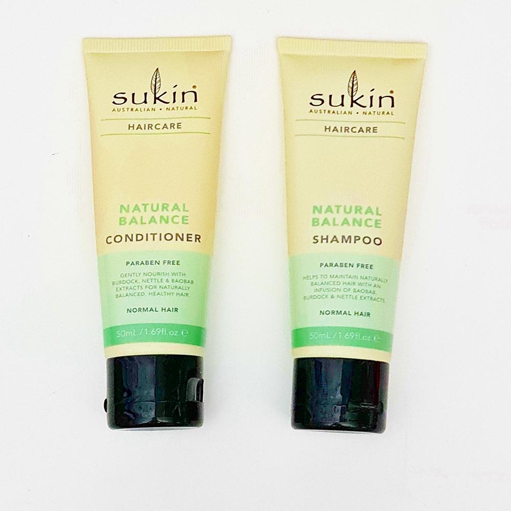 sukin hair care
