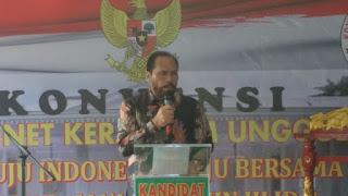 Mengisi Kabinet Kerja jilid II. 49 Organ Relawan Jokowi, Dorong, Dannerd Reynard Simangunsong. SE ikuti Konvensi 2K Kabinet SDM Unggul Indonesia Maju.