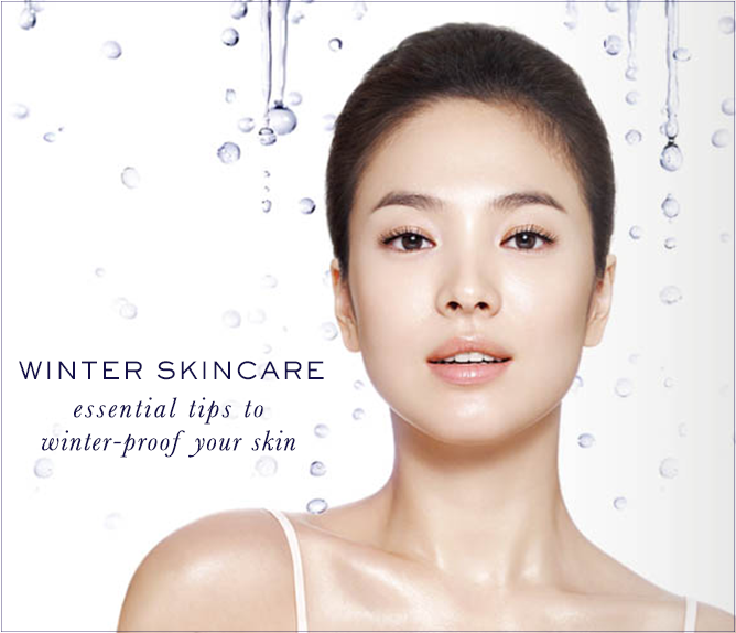 Winter Skincare Guide, Winter-proof skincare, Song Hye Kyo for Laneige