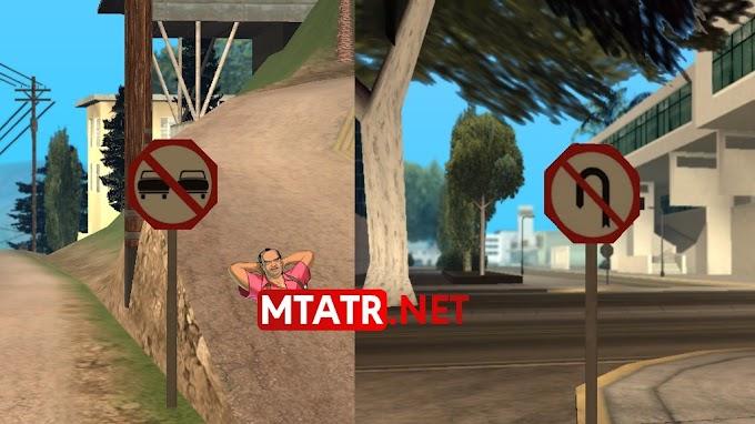 MTA SA Traffic Signs