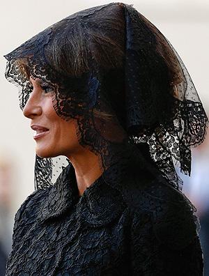 Melania Trump look  visita ao Papa
