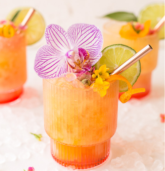 Pineapple Mango Rum Punch #drink