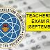 September 2021 Teachers Board Exam Result (LET) - ELEMENTARY LEVEL