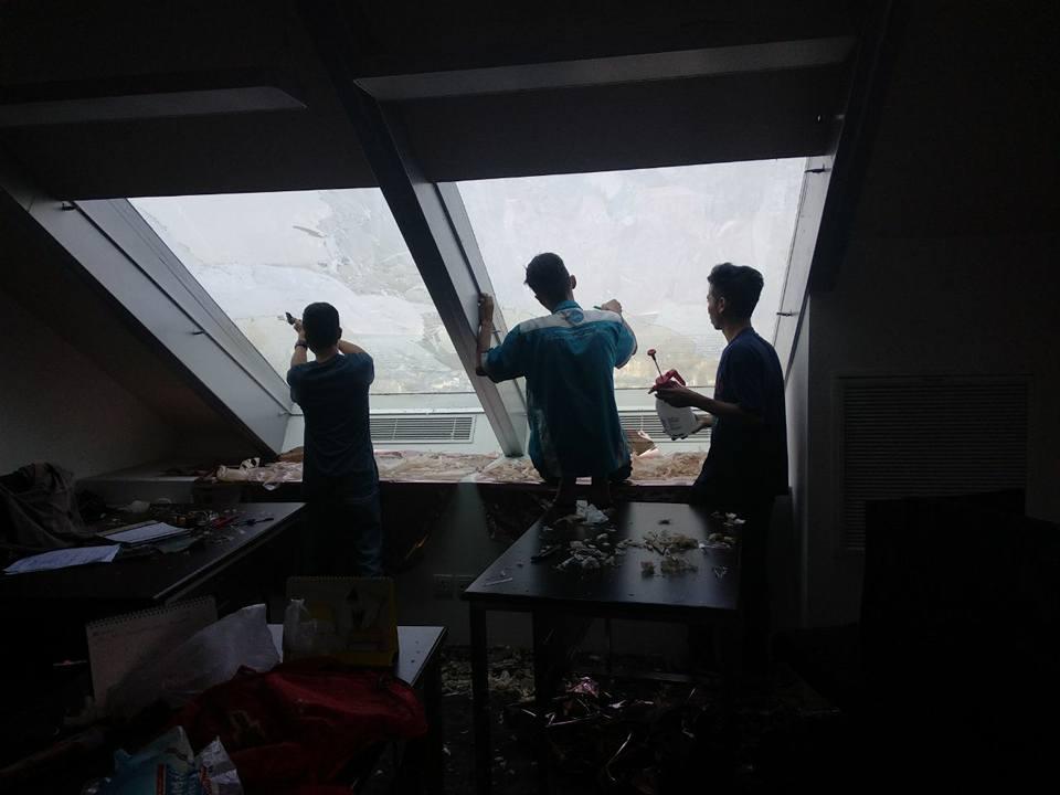 pasang kaca film rumah sakit di Tanah Abang Jakarta Pusat kualitas bagus!!