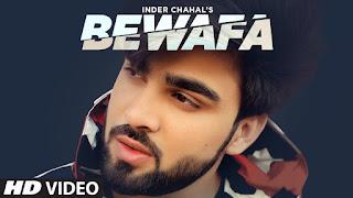 punjabi song bewafa lyrics by inder chahal from shiddat album
