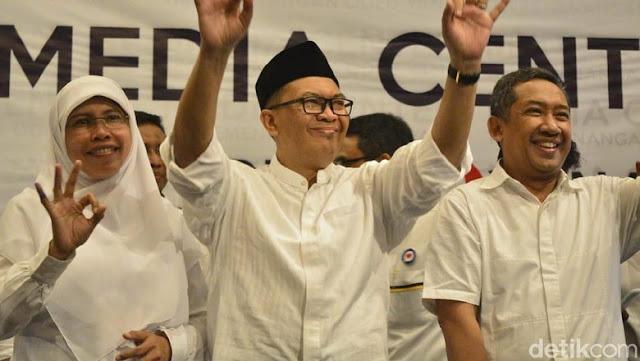Pasangan dari PKS-Gerindra Menang Mutlak Hitung Cepat di Pilwalkot Bandung