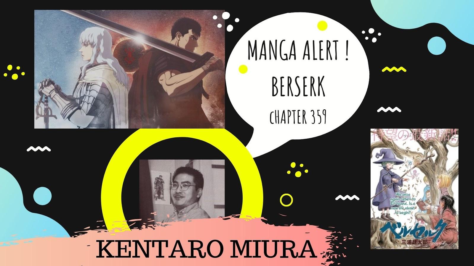 MANGA ALERT ! BERSERK Chapter 359 - OtakuPlay PH: Anime