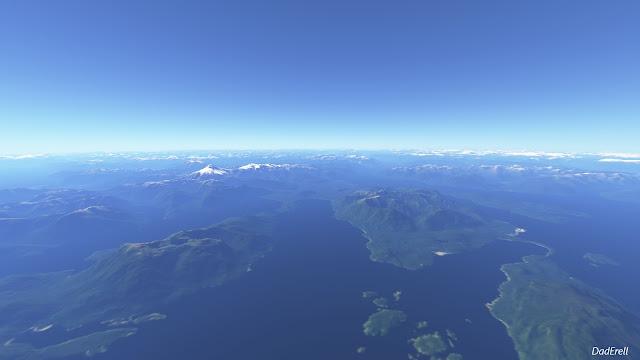 Infinite Flight Chili, volcan Maca