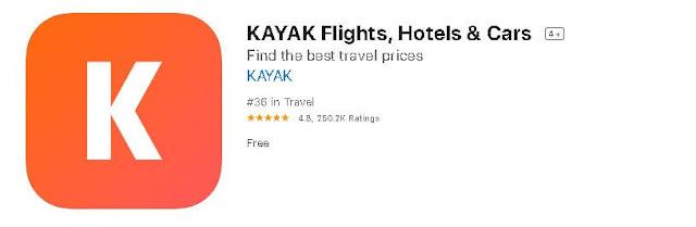 kayak,السياحة,تطبيق,تطبيقات,الهاتف,اندرويد,اي فون,فودافون