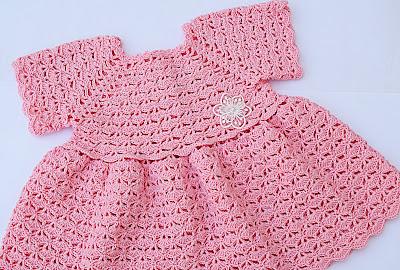 1 - Crochet Imagen Falda para bolero y canesú a crochet muy fácil y sencillo