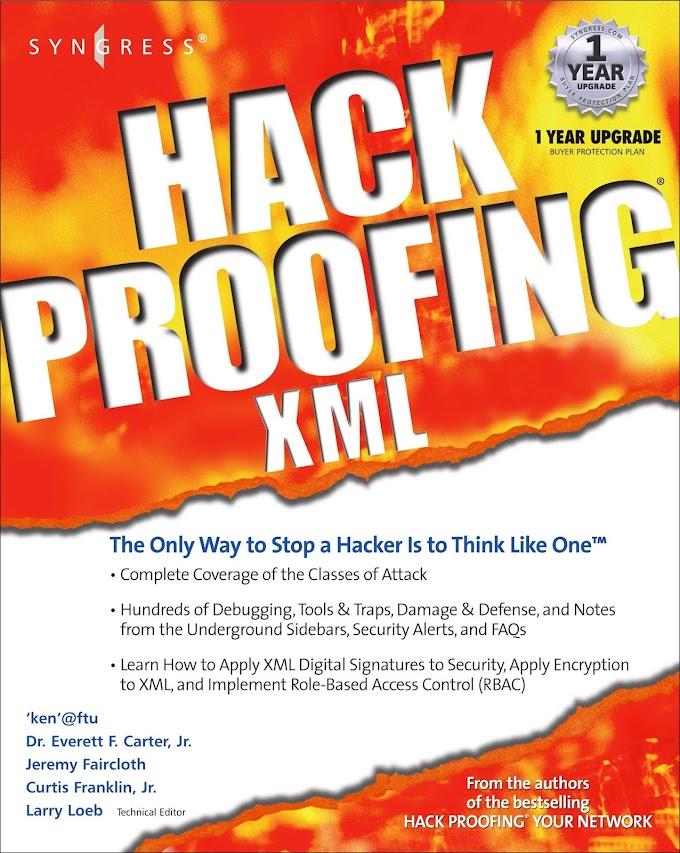 Hack Proofing XML. Syngress