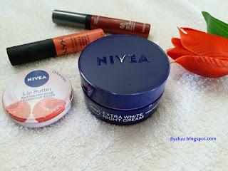 Review Nivea Extra White Night Cream