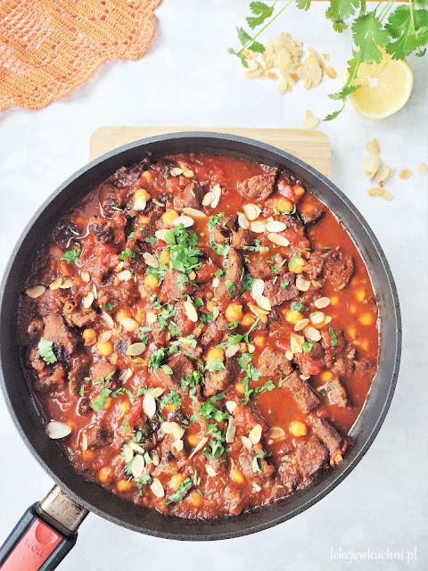 Wołowina po marokańsku (tagine z wołowiny)