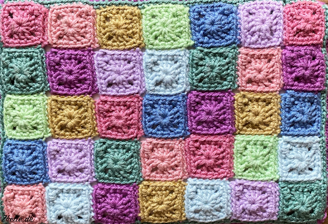 An image of a lot of granny squares
