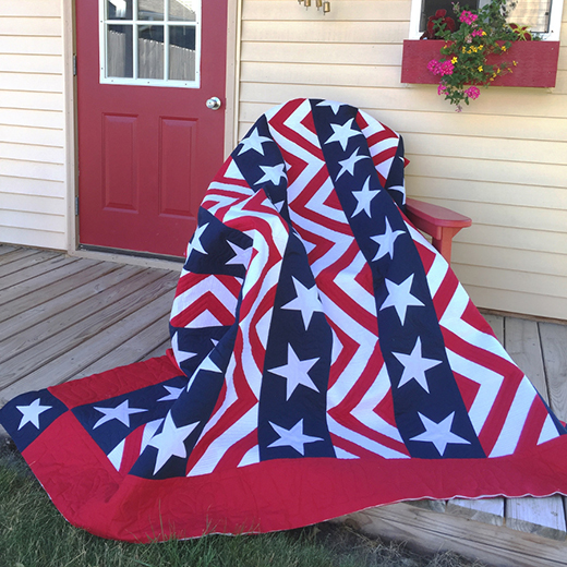 Made in USA Quilt Free Pattern