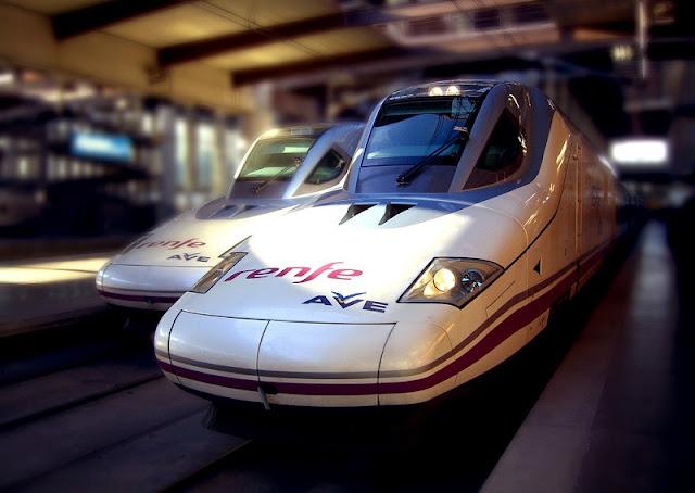 Viagem de trem de Madri a Valência