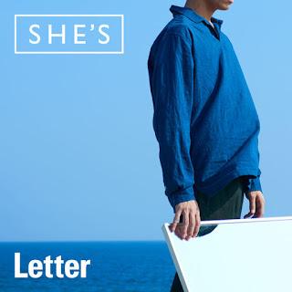 [Digital Single] SHE'S – Letter [MP3/320K/ZIP]
