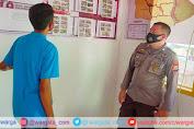 Bhabinkamtibmas Polsek Cendana Kontrol Posko Kampung Tangguh di Desa Pinang