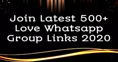 Join Latest 500+ Whatsapp Group Links 2020