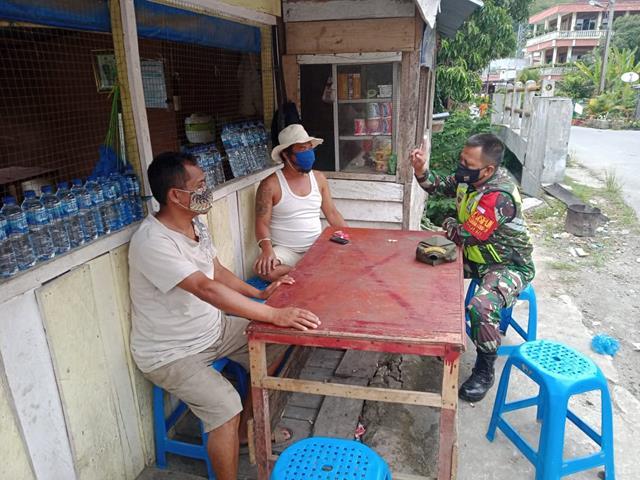 Hindari Penyebaran Covid-19, Personel Jajaran Kodim 0207/Simalungun Berikan Himbauan Jaga Kebersihan Kepada Warga Binaan