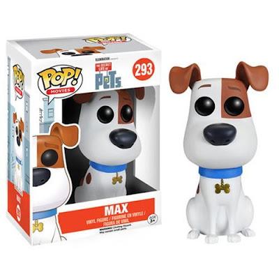 TOYS : JUGUETES - FUNKO POP  Mascotas - Perro Max : Figura  The Secret Life of Pets   PELICULA 2016   A partir de 3 años  Comprar en Amazon España & buy Amazon USA