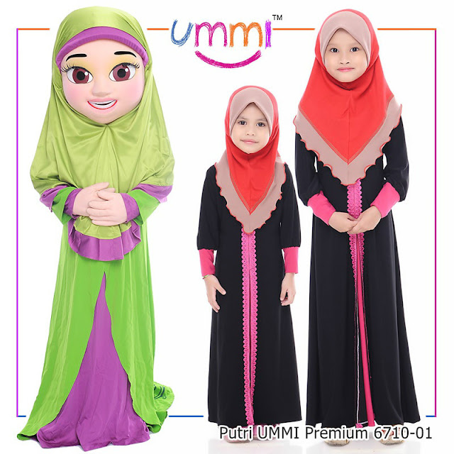 Tudung Putri UMMI Premium