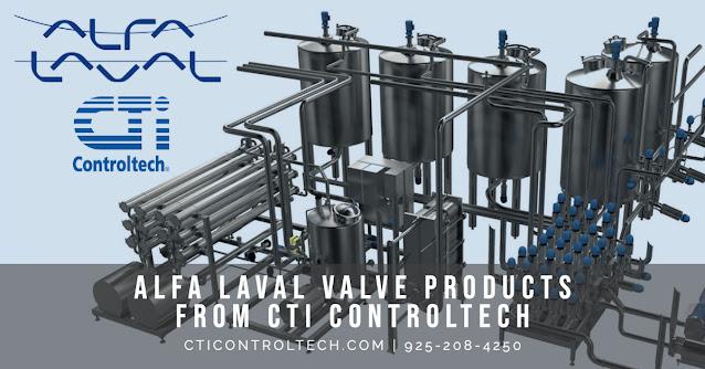 CTi Controltech Is Now an Alfa Laval Valve Distributor